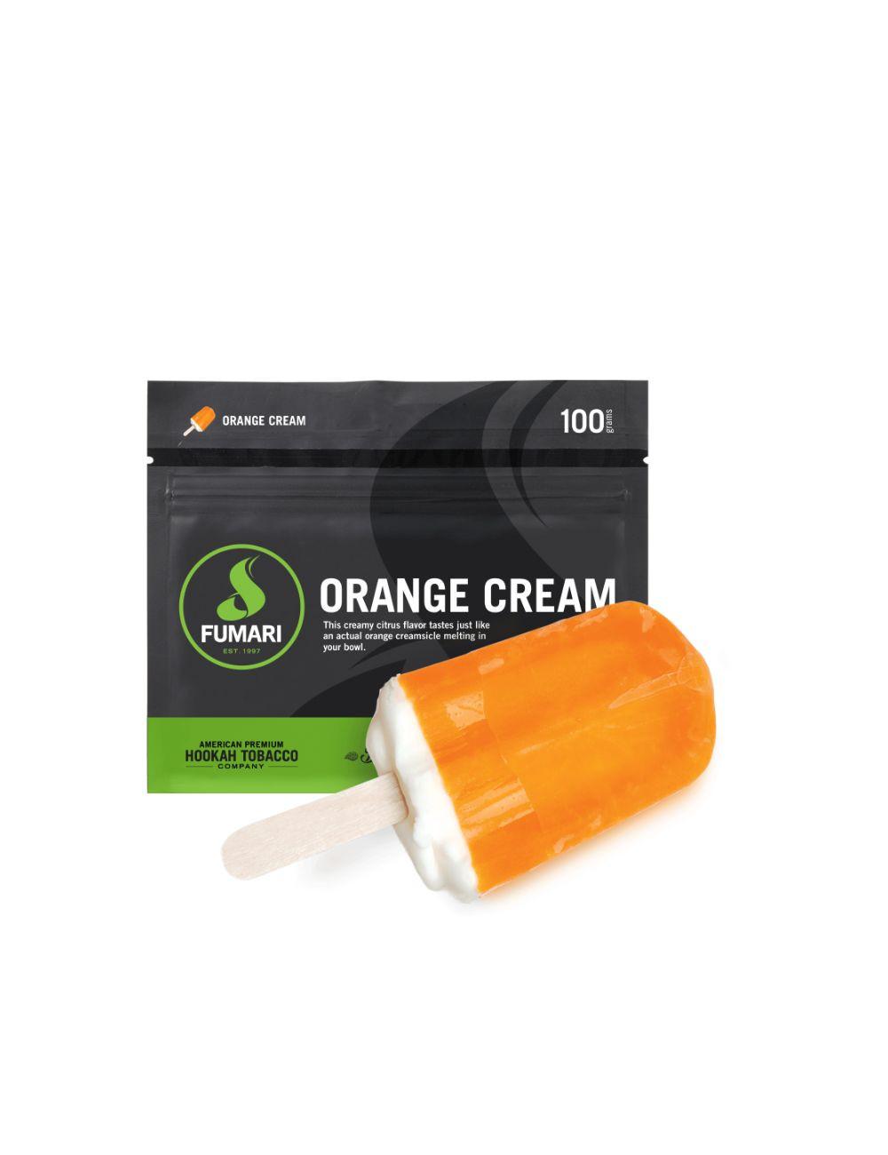 Înghețată de portocale
